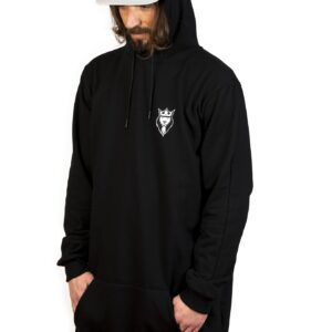 Sudadera Honorable Gentleman patch Hoodie – Black